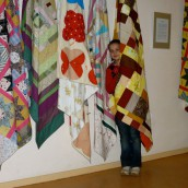Quilts from Lutheran Women in Mission - LWML - another inispiration for the people engaged in the new sewing studio project at St. Gregor's.
